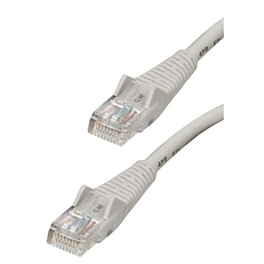 Tripp Lite N001-014-GY 14' CAT-5e Snagless Molded Patch Cable, Gray