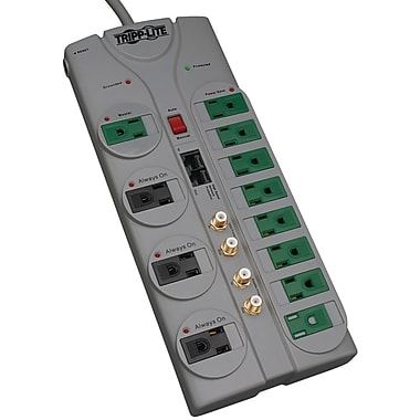 Tripp Lite Protect It! 12 Outlet 3600 Joule Surge Suppressor With 10' Cord (TRPTLP1210SATG)