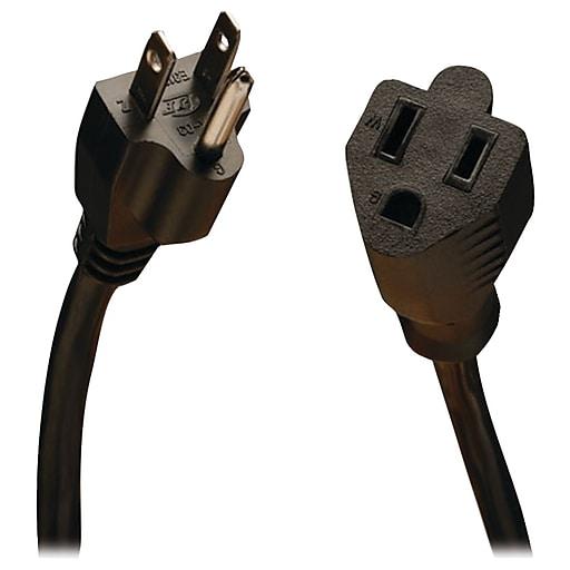 Tripp Lite P022 25' Power Extension Cord, 18 AWG, Black