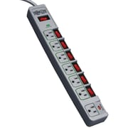 Tripp Lite PROTECT IT!® 7-Outlet 1080  Joule Surge   Suppressor With 6 ' Cord