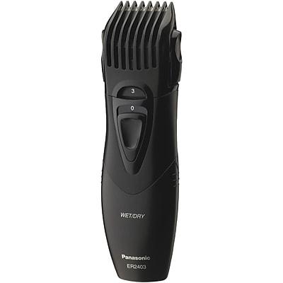 Panasonic® ER2403K Wet/Dry Hair And Beard Trimmer