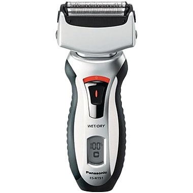 Panasonic 3 Blade Floating System Men's Wet/Dry Rechargeable Shaver (PANPESRT51S)