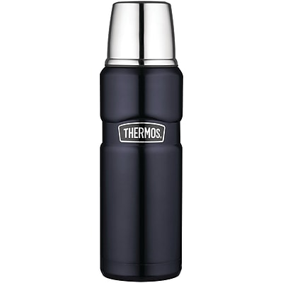 Thermos® 16 oz. Stainless Steel King Compact Bottle, Midnight Blue