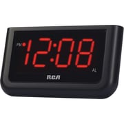 "RCA RCD10 1.4"" LCD Screen Alarm Clock"