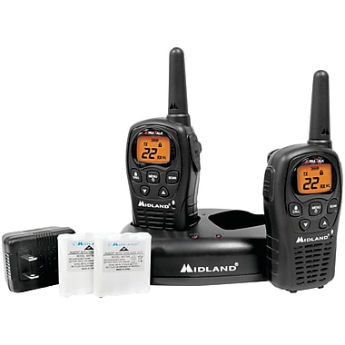 Midland Radio LxT500VP3 Up to 24 Mile Two-Way Radio, 2/Pack (MDLLXT500VP3)