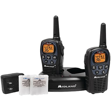 Midland Radio LxT560VP3 Up to 26 Mile Two-Way Radio, 2/Pack (MDLLXT560VP3)