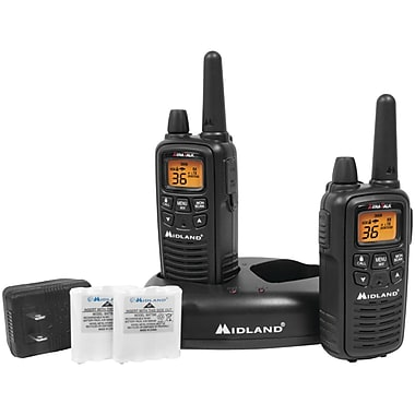 Midland Radio LxT600VP3 Up to 30 Mile Two-Way Radio, 2/Pack (MDLLXT600VP3)