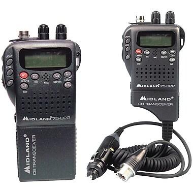 Midland Radio® 75-822 Portable/Mobile CB Radio