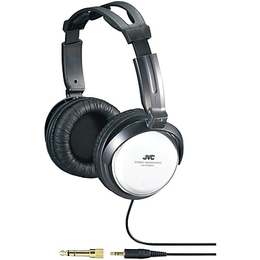 JVC HA-RX500 Full-Size Around Ear Headphone, Silver