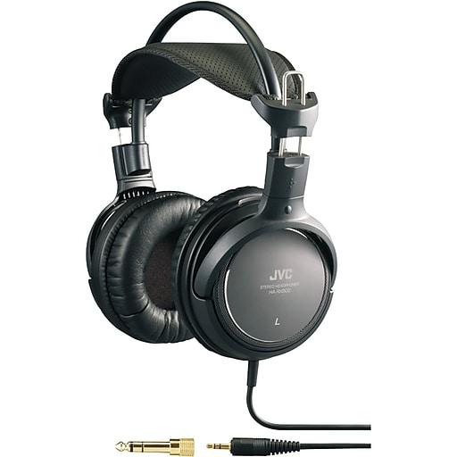 JVC HA-RX900 Over-Ear High-Grade Full-Size Headphone, Black