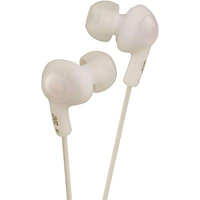JVC HA-FX5W Wired Gumy Plus In-Ear Headphone, White