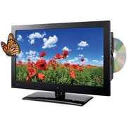 GPX 720p TDE1982B 19 Inch LED HDTV/DVD Combination, Black by