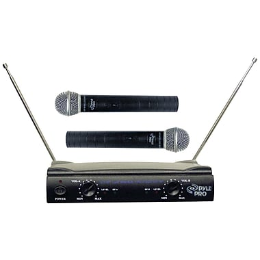Pyle® Pro PDWM2500 Dual VHF Wireless Microphone System