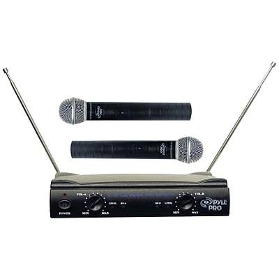 Pyle® Pro PDWM2500 Dual VHF Wireless Microphone System
