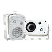 Pyle® PDWR30 Indoor/Outdoor Waterproof Speaker, White
