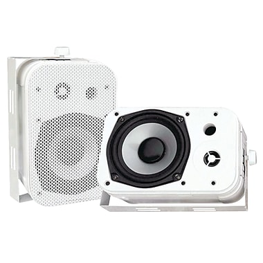 Pyle® PDWR40 Indoor/Outdoor Waterproof Speaker, White