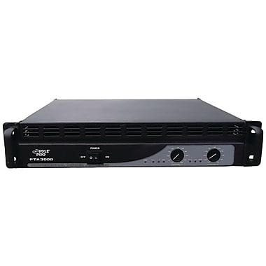 Pyle® PTA3000 Professional 3000 Watt Power Amplifier With Built-in Crossover