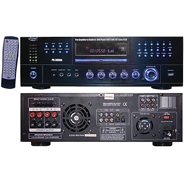 Pyle® Home PD3000A 3000W AM/FM Receiver With Built-in DVD, MP3 And USB