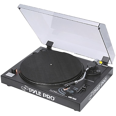 Pyle® Pro PLTTB3U Belt Drive USB Turntable With Digital Recording Software, 33 1/3RPM/45 RPM