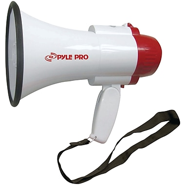 Pyle® Pro PMP30 Professional Megaphone/bullhorn With Siren, 30 W