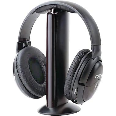 Pyle PHPW5 Professional 5 in 1 Wireless Headphone, Black