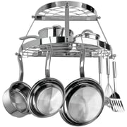 Range Kleen® CW6004R Two Shelf Wall Mount Pot Rack, Stainless Steel