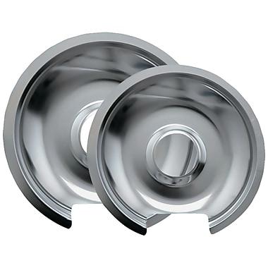 Range Kleen® 2 Pack Style D Chrome Drip Pans