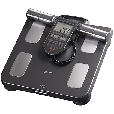 Omron® HBF-514C Full-Body Sensor Body Composition Monitor and Scale, 330 lbs., Black