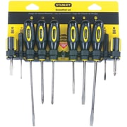 STANLEY® Standard-fluted Screwdriver Set, 10-piece