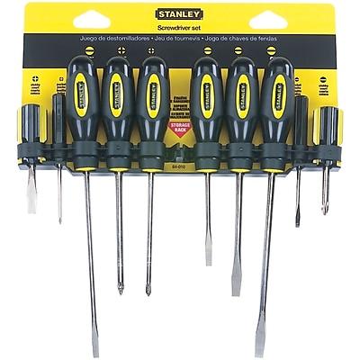 STANLEY® Standard-fluted Screwdriver Set, 10-piece