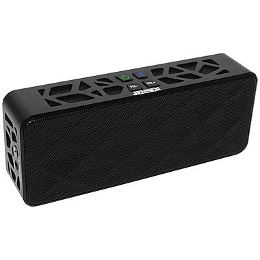 Jensen SMPS-650 Portable Bluetooth Wireless Rechargeable Speaker, Black