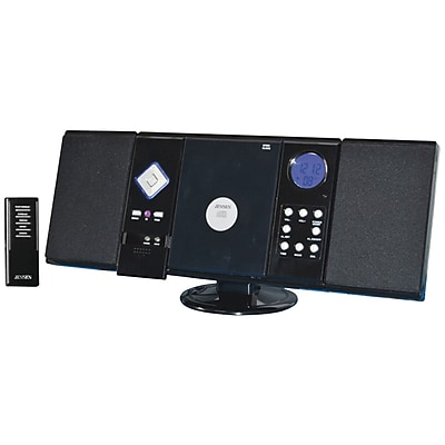 Jensen® JMC-180 Wall Mountable CD System With Am/Fm Stereo Receiver and Remote