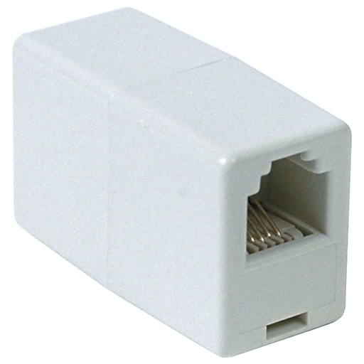 Compare & Buy RCA TP262 In line white Phone Cord Coupler at Staples.com