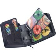 Case Logic® CDW-320 Nylon 336 Capacity CD Wallet, Black