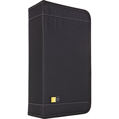 Case Logic® CDW-92 Nylon 100 Capacity CD Wallet, Black