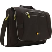 "Case Logic® 17"" Notebook Messenger Bag, Black"
