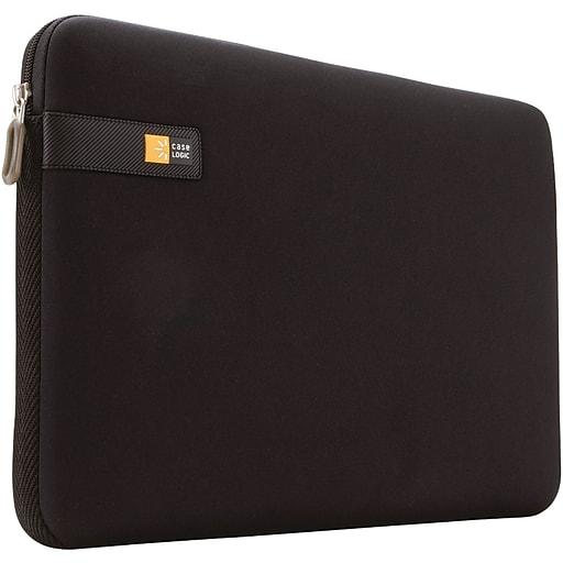 "Case Logic® 16"" Foam Laptop Sleeve, Black (CSLGLAPS116)"