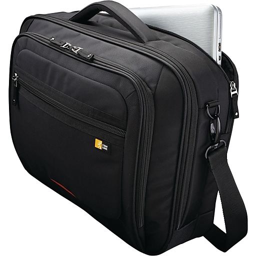 """Case Logic® Professional Carrying Case For 16"""" Notebook, Black"""