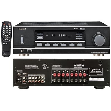 Sherwood Rx 5502 100W Dual Zone Multi Purpose 4 Channel Stereo Receiver (SHDRX5502)
