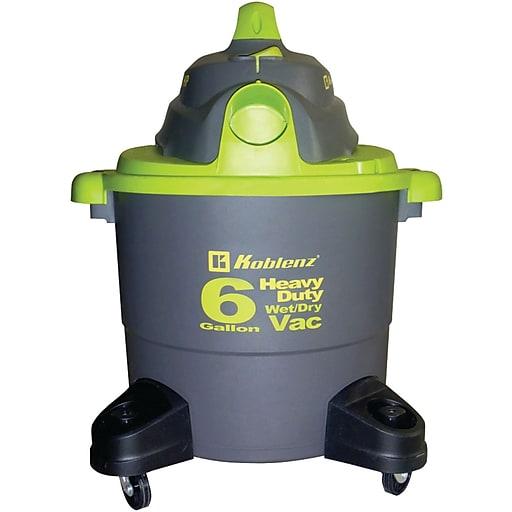 Koblenz® WD-6K Wet/Dry Vacuum Cleaner, 1/EA