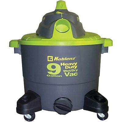Koblenz® WD-9K Wet/Dry Vacuum Cleaner, 1/EA