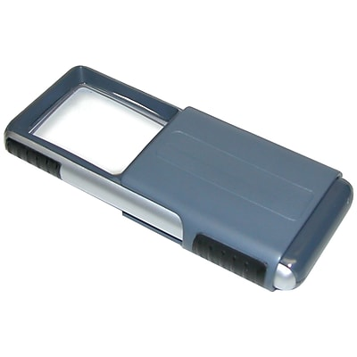 Carson Optical MiniBrite PO-25 Slide-Out LED Magnifier, Clear 208609