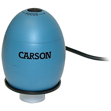 Carson® Optical USB Digital Microscope With 53x Optical Zoom, Surf Blue