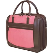 "Mobile Edge MacBook® ScanFast™ 16"" Briefcase, Pink Suede"