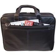 """DNPMobile Edge 16"""" Deluxe Notebook Briefcase, Black"""