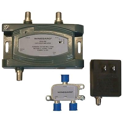 Winegard® HDA-200 24 dB Distribution TV Antenna Amplifier