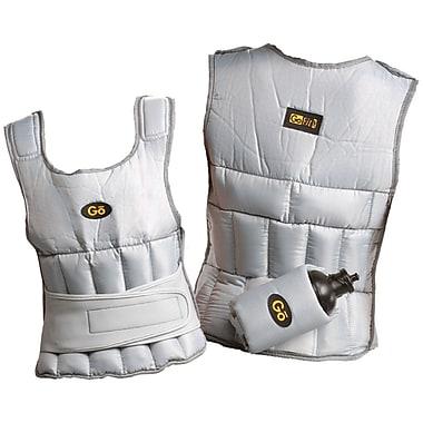 Gofit GF-WV10 Weighted Vest, White