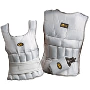 Gofit GF-WV10 Weighted Vest, White