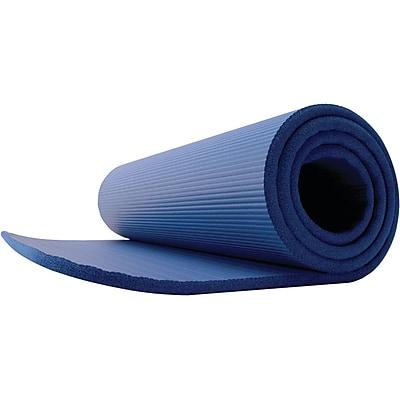 Gofit GF-PMAT Deluxe Pilates Foam Mat, Blue