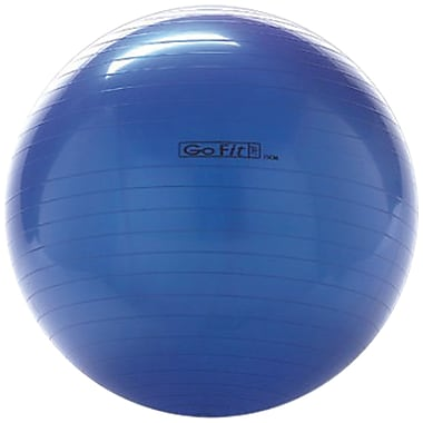 Gofit GF-75BALL Exercise Ball With Pump, Blue
